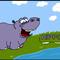 Benjamin the Happy Hippo