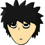 Face of Lawliet L by TheMaskMaker