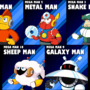 5 Robot Masters by JonBro