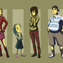 Silent Hill 2 Lineup by Forte7