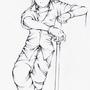 Look, it's some guy. by kiiryu