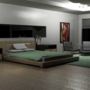 Modern Bedroom Render by BraddScott