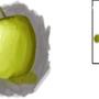 First Digital Apple by Vandorin