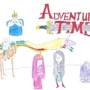 Adventure Time Drawing by Uberawesome02