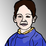 Cartoonized Four Year Old Me by C3Z4rtv