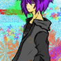 Purple haired punk by XiaoxiaoGOD