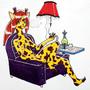 Hookah Giraffe by Deadboy01