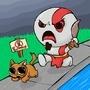 Kratos by Spiddles