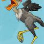 strange bird by MrCreeep