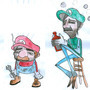 Mario & Luigi by Pillowmint