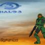 Halo 3 - Master chief! by rakan610