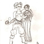 Kimi and San by Porkrock