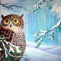 Solstice Owl by Pyratekirk
