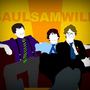 Saul, Sam and Will by WillWivell