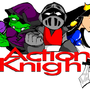 Action Knight Logo by powermanX