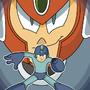 Megaman/Terra by treefrogproductions