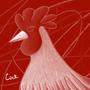 Monochrome Cock by Kashi