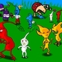 Pikmin retards by Tomanator490