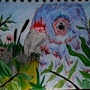 My Parrots Hiding by Sawke