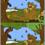 Fun with da Bears by yellowbouncyball