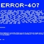 ERROR - 407 by Jd314159