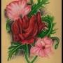 Three Flowers by XxCrimsonMoonxX