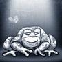 Fat Frog by WackWacko
