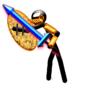 Gold_Knight by dragonwill007