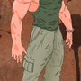 Guile of Street Fighter by Sevengard