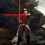 Miraluka Sith Lord - (Request) by johngoldenwolf