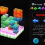 Space 3D Tetris Concept Art by brocolinho