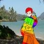 Rainbow Gaara by bob-the-monkey1