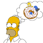 Homer Thinking by gamenovice19