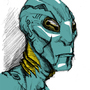 Abe Sapiens Fan art by Letal