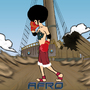 POWER TO THE AFRO LUFFY by Olzone