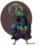 Ghost Pirate LeChuck by JinnDEvil