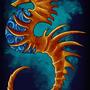 Rusty Seahorse by Undeadkitty13