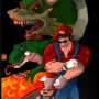 Mario goes kickass by Tatsukamba