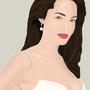 Angelina Jolie Portrait. by John-Constantine