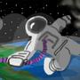 Space Mistake by zappawadda
