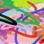 Random watercolor & oil paint by teddybearkiller1