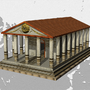 Fantasy Greco-Roman Temple by samulis