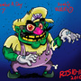 Zombie Wario by ronnieraccoon