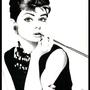 Audrey Hepburn by crtaranto