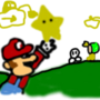 Mario The Star by WhatGrounds