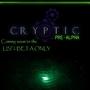 Cryptic Pre-Alpha by DDRrez