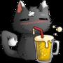 Cat Beer by matt-likes-swords
