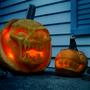 Dirge n' Meatboy Pumpkins by Izzy-A