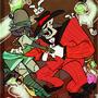 Bone Bag Rag by CosmicB23