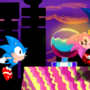 Sonic CD by ExploadingRabbits